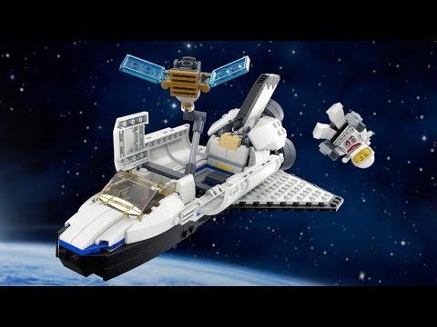 Vidéo LEGO Creator 31066 : La navette spaciale