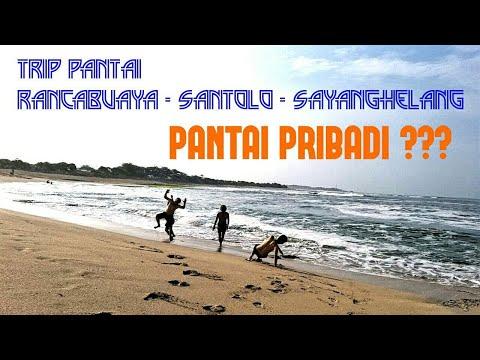 """SERASA PANTAI PRIBADI"" DI PANTAI SANTOLO & RANCABUAYA, GARUT SELATAN #Trip2"