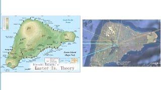 2029MoaisforDirectionSignsイースター島のモアイ・方向指標像説MysteryofEasterIslandbyはやし浩司