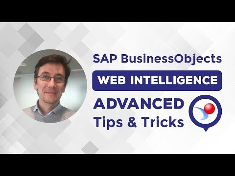 6 SAP BusinessObjects Web Intelligence Tips & Tricks with Gregory ...
