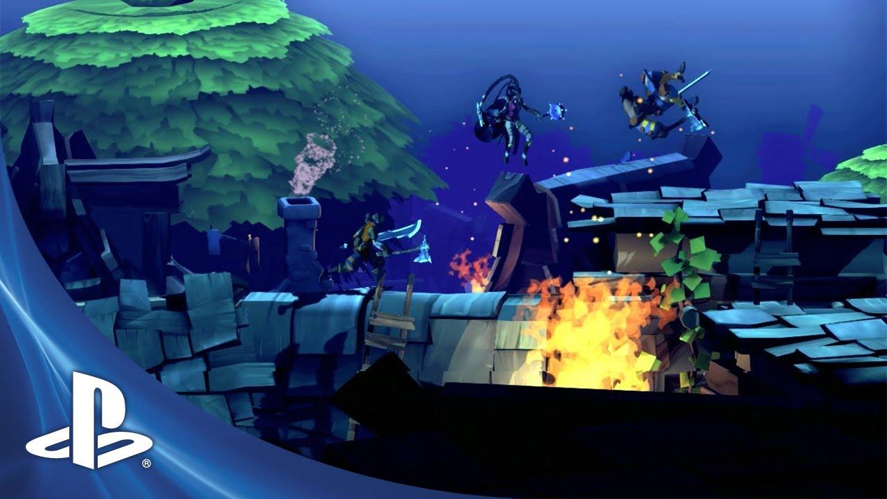 Side-Scrolling Action Brawler Sacred Citadel Coming to PSN