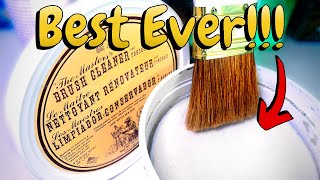 Best Artist Paint Brush Cleaner EVER! Masters Brush Cleaner Review!