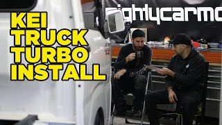 The full story of our turbocharged Kei Truck (Disrespected Timtam)