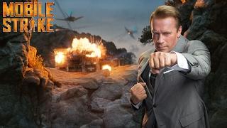 Mobile Strike: Arnold Schwarzenegger takes on the battlefield