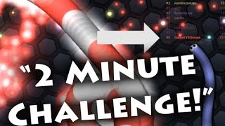 Leaderboard in 2 Minutes! - slither.io