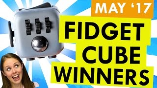 And The Winner of The How to ADHigh Quality Mp3 Fidget Cube Giveaway Is…