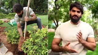 Kartikeya accept Green India Challenge