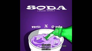 MD - Soda ft. G-rdz ( Official Audio ) | @GGL