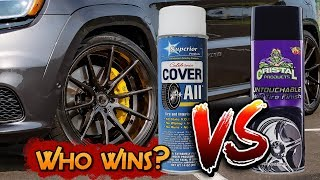 TWO of the BEST TIRE SHINE Products on the Market go HEAD 2 HEAD