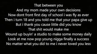 I'm Sorry Dad - By: Devvon Terrell (Lyrics)