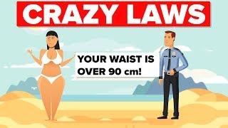Crazy Laws That Still Exist Around The World