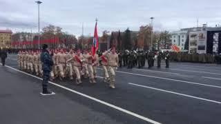 Генеральная репетиция Парада Памяти.