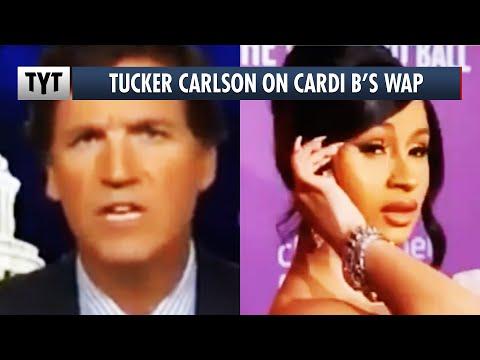Tucker Carlson Goes After Cardi B's 'WAP'
