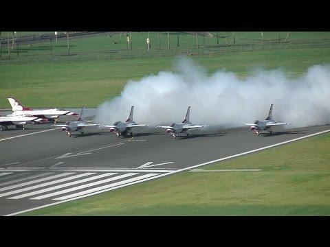 TJSJ Spotting: USAF Thunderbirds Departure!