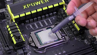 How to apply and remove Thermal Paste? | Tutorial