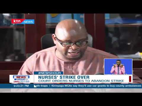 After 79 days out work, nurses are set to resume work tomorrow after they suspended their strike