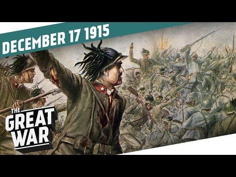 Zoufalství a vzpoura na italské frontě - Velká válka