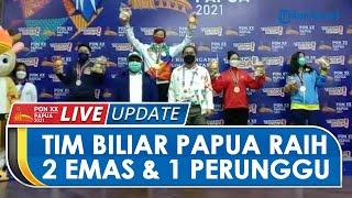 Tim Biliar Papua Torehkan 2 Emas dan 1 Perunggu, Ketua POBSI Papua Menangis Haru