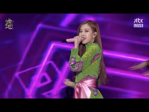 BLACKPINK - '불장난 (PLAYING WITH FIRE)' +  '마지막처럼 (AS IF IT'S YOUR LAST)' In 2018 Golden Disc Awards