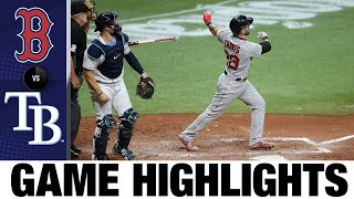 Alex Verdugo goes deep in 5-0 win vs. Rays | Red Sox-Rays Game Highlights 8/5/20