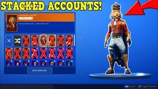 FANS GIVE ME THEIR ACCOUNT... He Has The Rarest Christmas Skin! (Fortnite Battle Royale!)