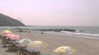 2015-11-17 Timelapse - Ozran Beach, Vagator.