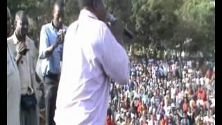 Lema Afunika nyumbani kwa Sumari