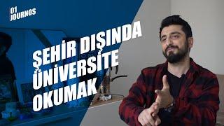 Şehir Dışında Üniversite Okumak #01journos - Röportaj Adam