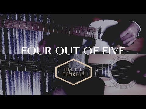 Four Out Of Five - Arctic Monkeys ( Guitar Tab Tutorial & Cover )