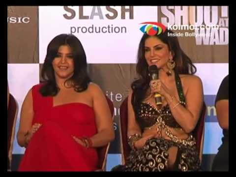 Sunny Leone on her First Item Number 'O Laila'