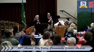 22nd Annual Sky Valley Community Service Awards