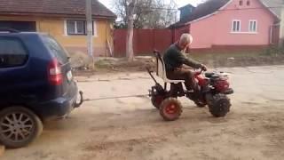 MOTOCULTOR MINI TRACTOR 4X4 TRACTIUNE  HOME MADE