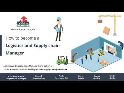 How to become a Logistics & Supply Chain Manager - YouTube