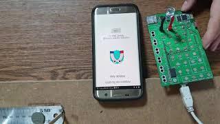 아두이노 스크래치 프로그래밍 - 스마트폰에 문자열 보내기