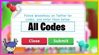 Roblox Adopt Me Codes 2018 - Get Free Robux Codes