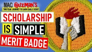 How To Get Scholarship Merit Badge - Easiest To Earn At Home