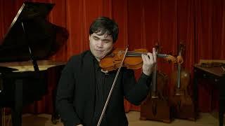 Gaetano Gadda violin, Mantua 1951