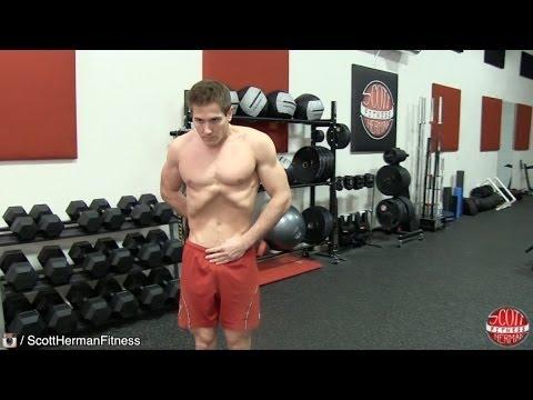 Ćwiczenia do rozwijania mięśni dolnej klatce piersiowej