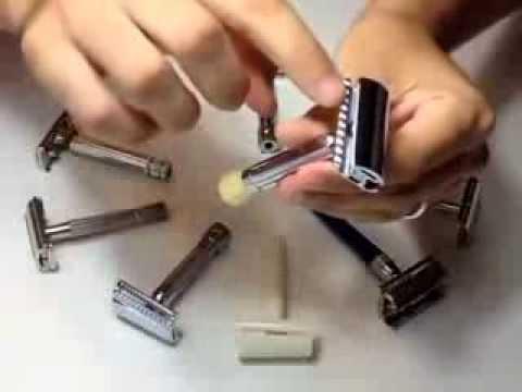 Tipos de maquinillas clasicas de doble filo.