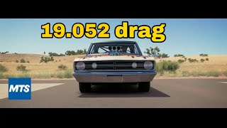Forza horizon 3 dodge dart drag tune  (19.052sec) tune