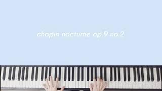 쇼팽 녹턴 op9. no.2 무료악보(쉬움주의)+연주 by 셀라피아노
