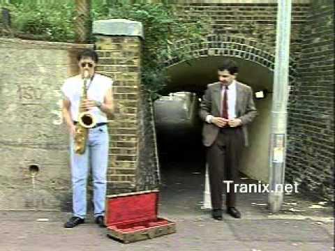 Mr Bean Street Performer