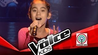 "The Voice Kids Philippines Blind Audition ""Grow Old With You"" by Julienne"