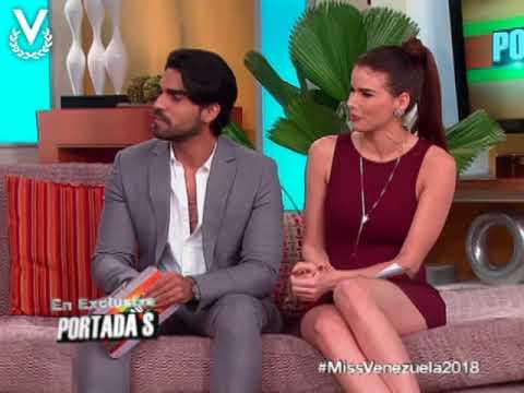 """El Comité Ejecutivo de """"Miss Venezuela 2018"""" visita Portadas"""