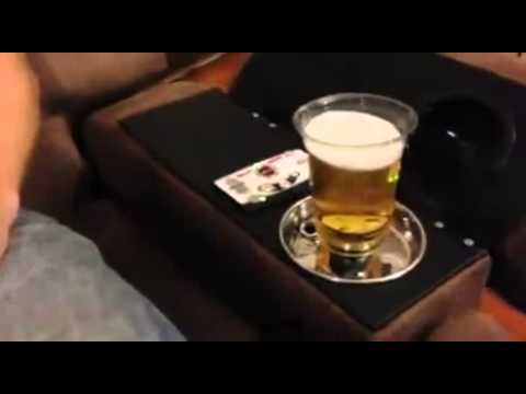 This Chair Fills Up Your Beer From The Bottom