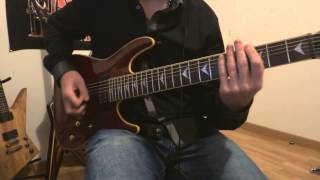 Going Under - Evanescence guitar cover HD (with backing track)