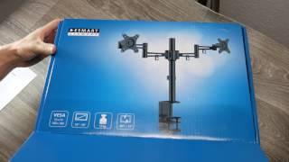 eSmart Germany TV / Monitor Doppelarm Tischhalterung