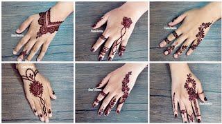 Latest Mehndi Designs Images 2019 For Back Hands | Trendy Henna Designs For Women