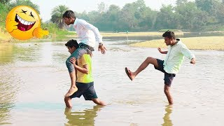 Must Watch New Funny | River Fishing😂😂Comedy Videos 2019 Bindas Fun || Found2fun