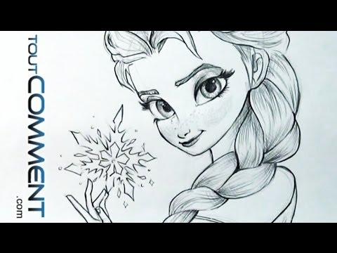 Comment Dessiner Elsa Disney La Reponse Est Sur Admicile Fr